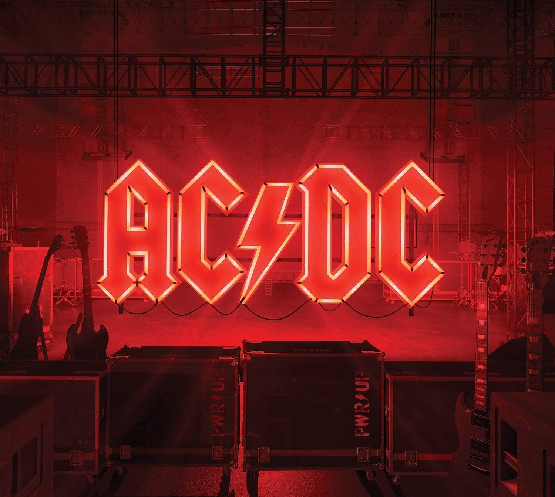 AC/DC Power up Deluxe light box. Amazing new album deal.