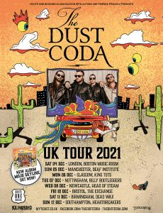 The Dust Coda announce UK Tour in December 2021