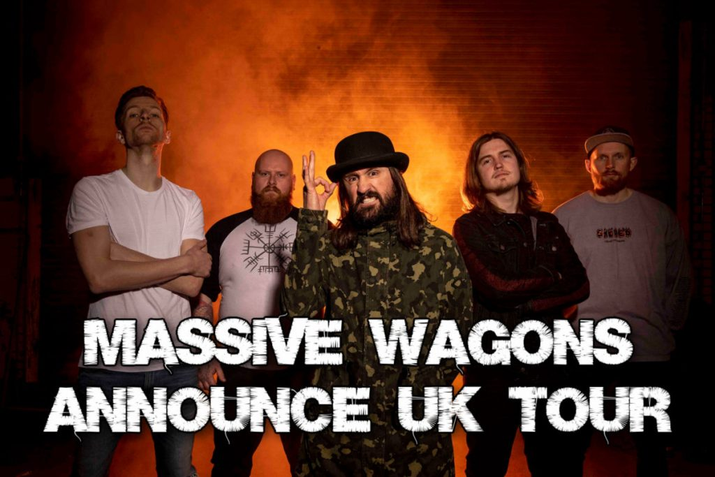 Massive Wagons announce UK Tour