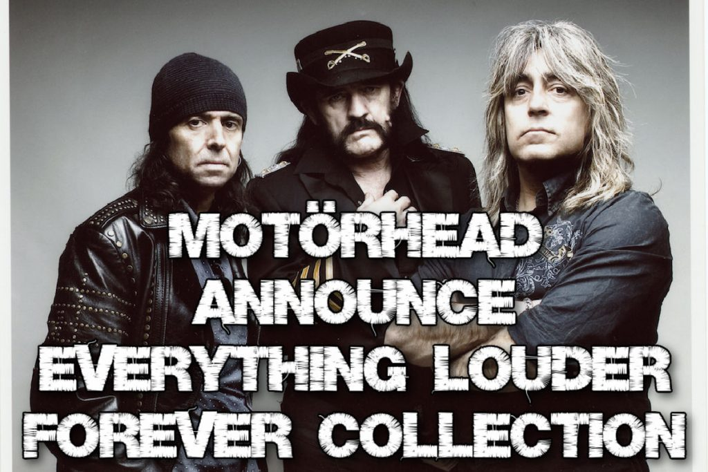Motörhead announce 'Everything Louder Forever' collection