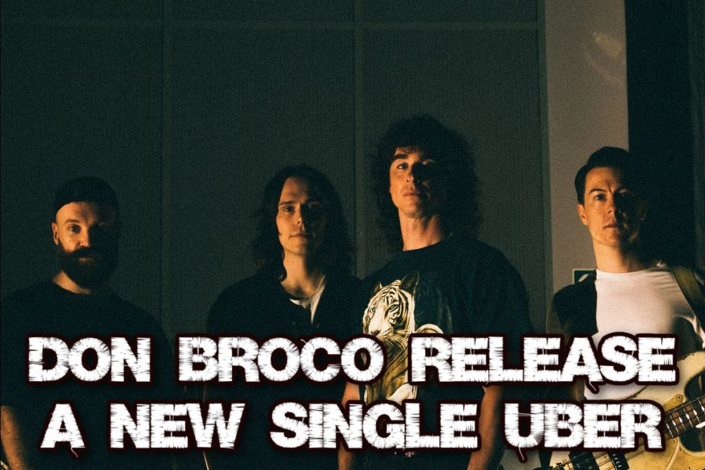 Don Broco release a new single 'Uber'